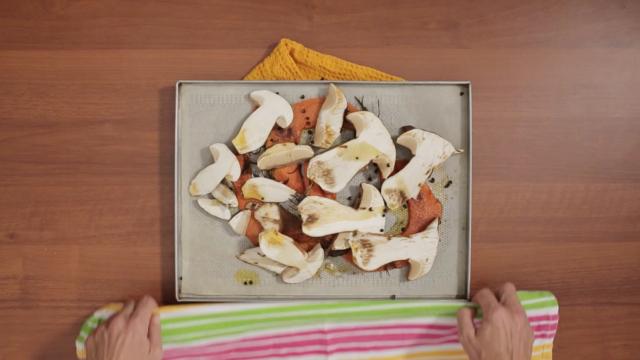 insalata-zucca-arrosto-funghi-e-mandorle-step-6