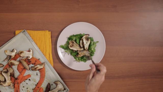 insalata-zucca-arrosto-funghi-e-mandorle-step-7