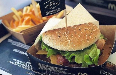 Joe Bastianich firma gli hamburger di McDonald's