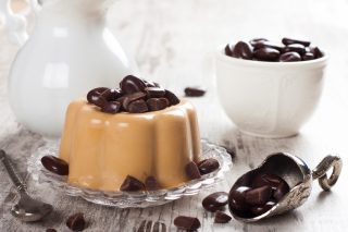 Panna cotta al caffè: sapore intenso