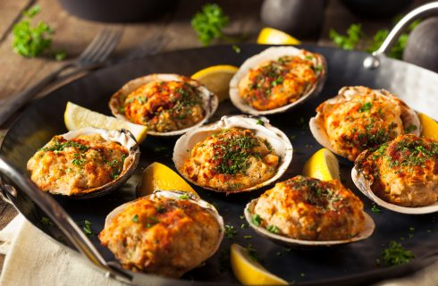 Ostriche al forno: secondo piatto raffinato