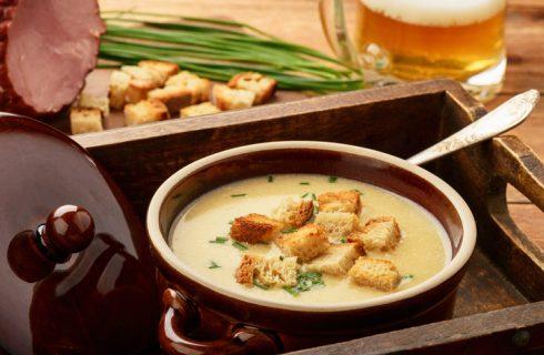 Zuppa di formaggio grigio, la ricetta per l'autunno