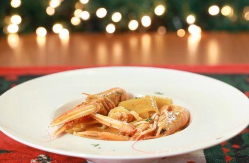 Calamarata con scampi e bottarga: primo piatto semplice e veloce