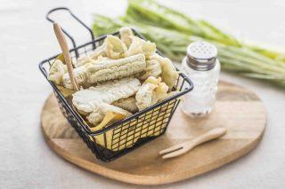 Cardi in pastella: antipasto vegetariano