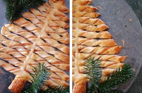 Albero di Natale salato, la ricetta