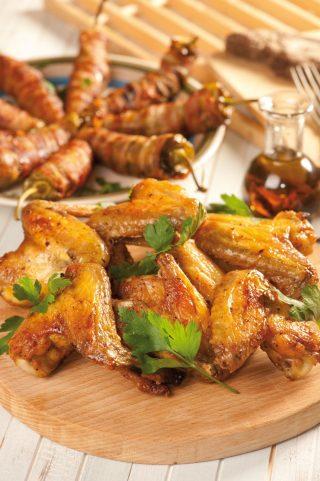 Ali di pollo al limone al barbecue: semplicissime