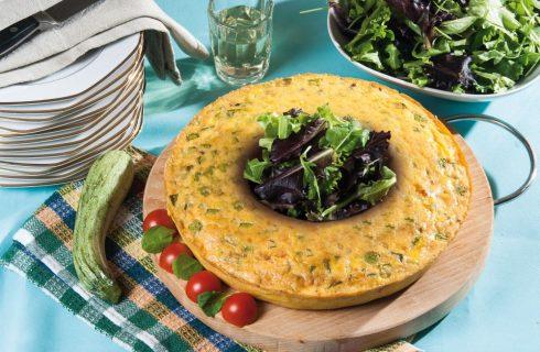 Anello di zucchine: perfetto per il pic nic