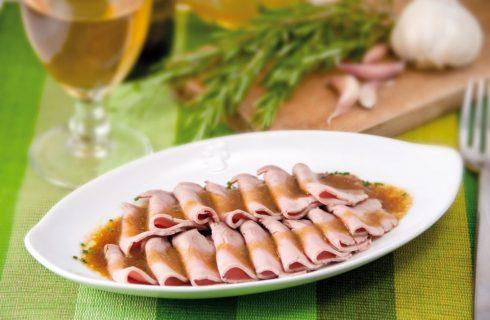 Arrosto di maiale al vino bianco e rosmarino