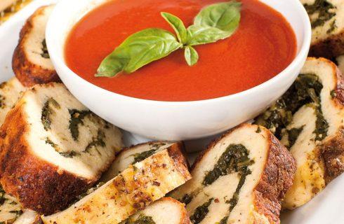 Arrosto ricotta e spinaci: piatto vegetariano