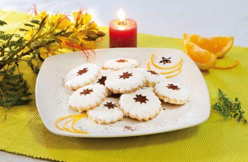 Biscotti all'arancia e olio d'oliva: per l'ora del tè