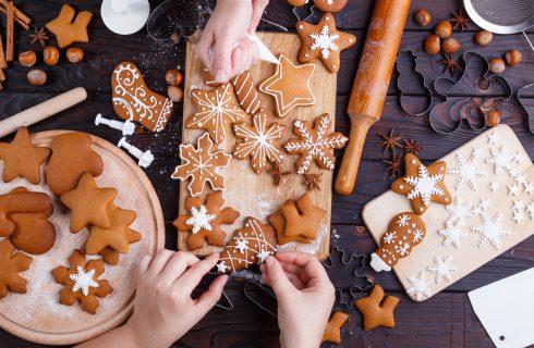 Biscotti di Natale allo zenzero, la ricetta