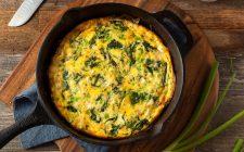 La ricetta della frittata al forno con ricotta, spinaci e pinoli