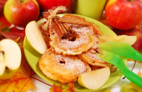 Frittelle di mele e pasta sfoglia, la ricetta veloce