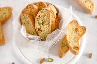 Cantucci al pistacchio: biscotti tipici toscani