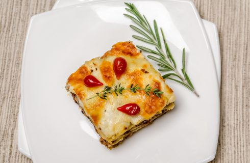 La parmigiana di pancarrè con la ricetta di Anna Moroni