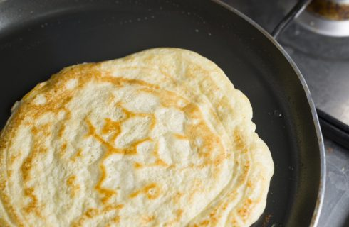 La ricetta della piadina con farina di lupini