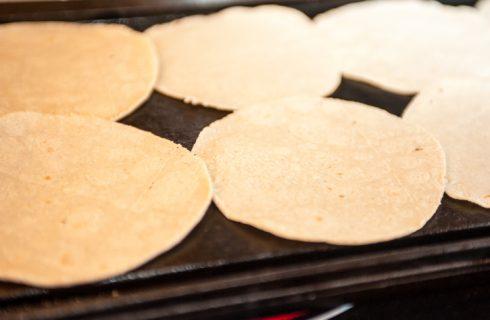 La ricetta della piadina con farina dimais