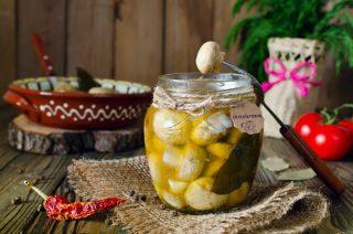 Champignon sottolio: contorno versatile e gustoso