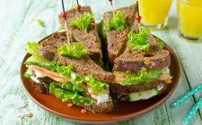 Club Sandwich al salmone