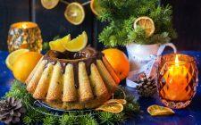 Torta alle arance con cioccolato