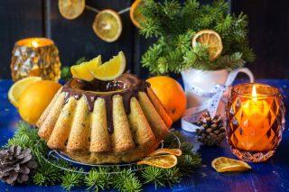 Torta alle arance con gocce di cioccolato: tutto il sapore dell'inverno