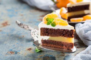 Torta cioccolato e mandarini: profumo fresco e accattivante