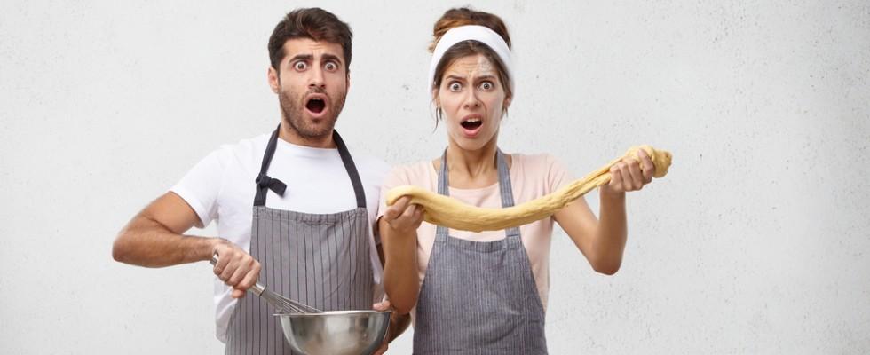 I 10 errori più comuni che si fanno quando si preparano dolci