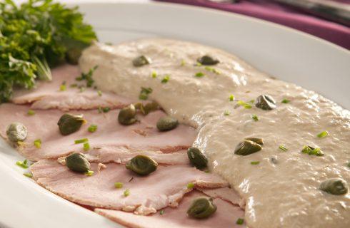 Vitello tonnato: origini e storia del piatto piemontese