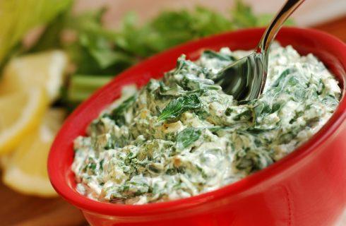La ricetta degli spinaci filanti