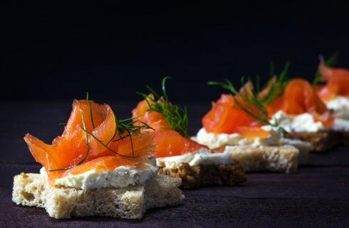 Antipasti con salmone: le ricette da provare