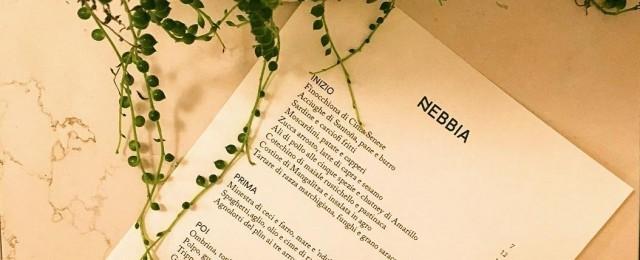 Nuove aperture a Milano: Nebbia