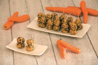 Polpette di carote senza cottura: finger food semplice e veloce