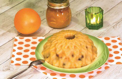 Budino di semolino all'arancia: semplicissimo