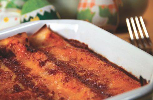 Cannelloni con formaggio e carne macinata: primo piatto ricco