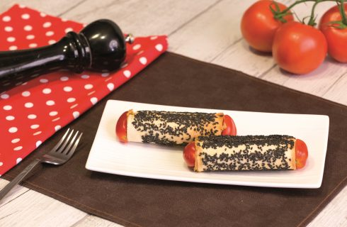 Cannoli alla mousse di fagioli: antipasto senza cottura