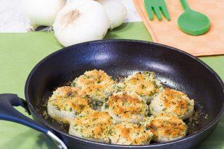 Cipolline gratinate, per un contorno semplice e gustoso