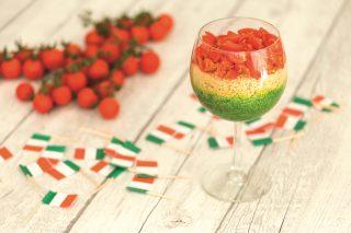 Cous cous con spinaci e pomodori: un colorato primo piatto