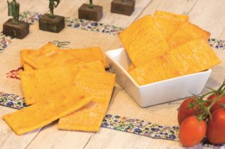 Crackers alla pizza: per l'aperitivo