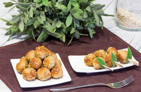 Polpette di tofu alla salvia: gustoso antipasto