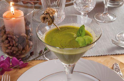 Crema di cavolfiore con bocconcini di sarde: piatto completo