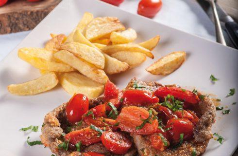 Braciole fritte e patate: secondo con contorno
