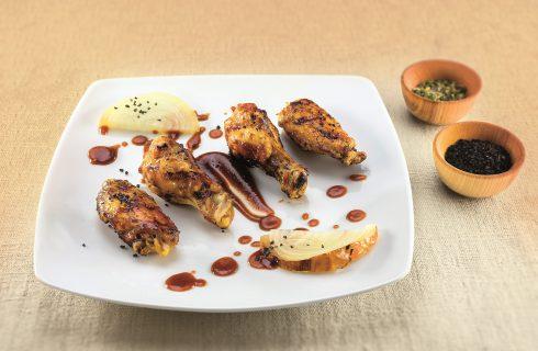 Buffalo wings al barbecue: secondo gustoso