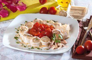 Calamari ripieni di pane in bianco, la tradizione