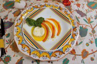 Caprese esotica: con il mango e la papaia