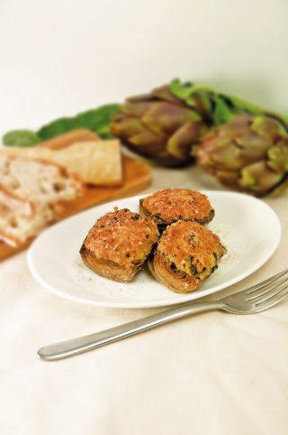 Carciofi in crosta: secondo di verdure