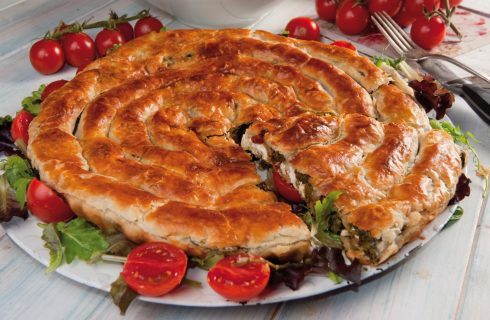 Chiocciola salata agli spinaci: semplice e deliziosa