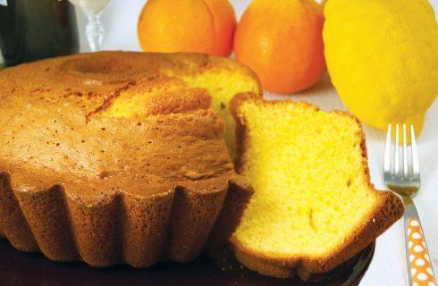 Ciambella al profumo di limone e arancia