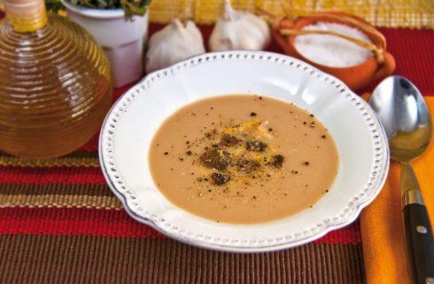 Crema di fagioli al tartufo: per la stagione fredda