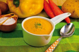 Crema di peperone giallo, tutto il sapore dell'estate