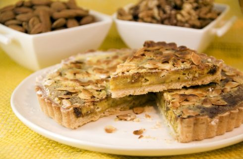 Crostata caramellata con mascarpone